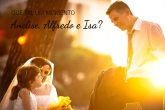 Anelise, Alfredo e Isa | Roma (Itália)