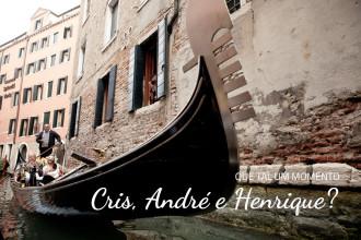 Cris, André e Henrique | Veneza (Itália)