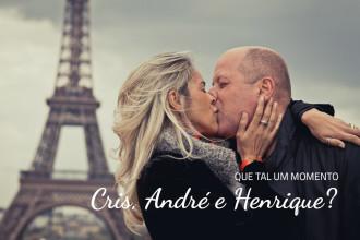 Cris, André e Henrique | Paris (França)