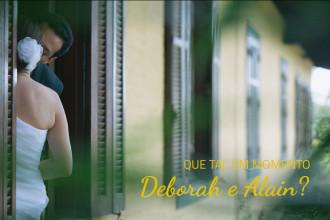 Deborah e Alain | Casamento | Granja Viana