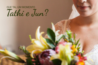 Tathi e Jun | Casamento | Guararema