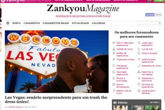 Ensaio de Vegas publicado na Zankyou
